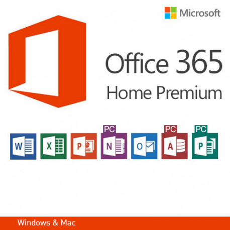 Microsoft Office 365 Home Premium, DE version 32 i 64 bit