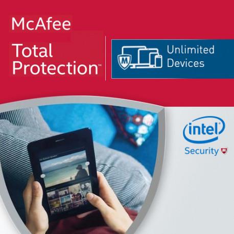 mcafee total protection unbegrenzt 1 jahr. Black Bedroom Furniture Sets. Home Design Ideas