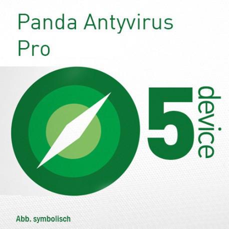 Panda Antivirus Pro 2018 Multi Device PL ESD Odnowienie 5 Urządzeń