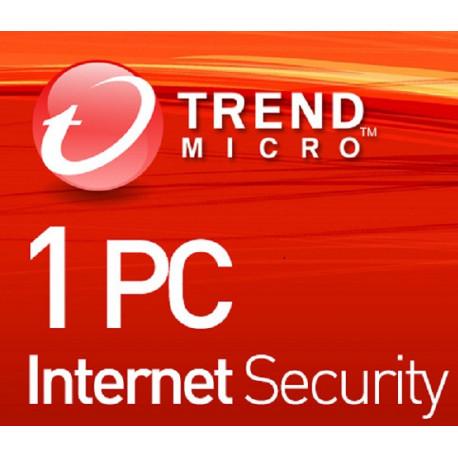 Trend Micro Internet Security 1 PC 3 Lata