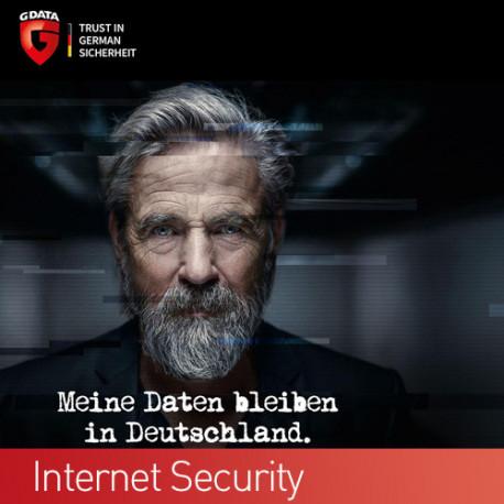 G DATA INTERNET SECURITY 1 PC 1 Jahr Schutz