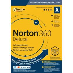 NORTON 360 STANDARD 5 PC 1 ROK