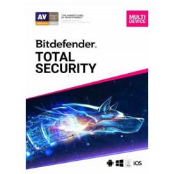 Bitdefender Total Security + VPN Multi-Device 2020 10 Geräte 1 Jahr
