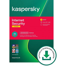 Kaspersky Internet Security 2021 1 Gerät 1 Jahr
