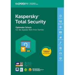 Kaspersky Total Security 2021 3 Geräte 2 Jahre