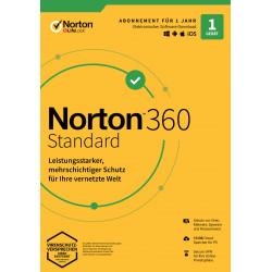 Norton 360 Standard   1 Gerät   1 Jahr Schutz   10 GB   kein Abo