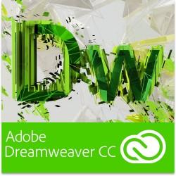 Adobe Dreamweaver Creative Cloud,  (12-Months Licence) (PC/Mac)