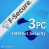 F-Secure Internet Security 2018 (Multi) (3 User) (1 Jahr) (Win)
