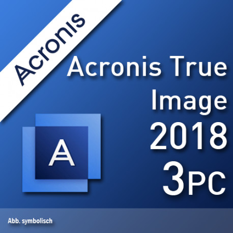 Acronis True Image Premium + 1 TB Cloud 2018 3 PC