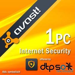 avast! Internet Security 2016 1 PC 1 Jahr Download